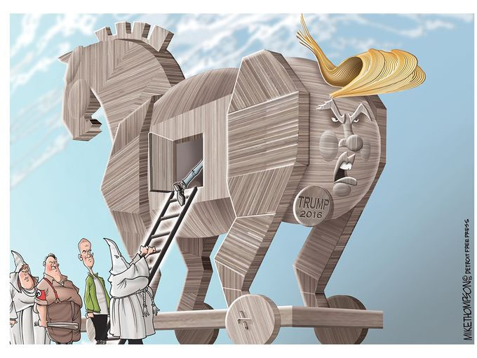 What the Trojan Horse Can Teach Donald Trump